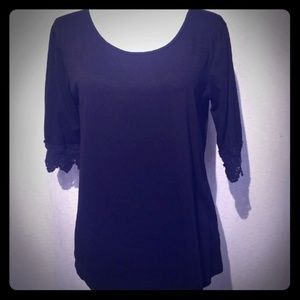 Charming Charlie Scoop Neck Top